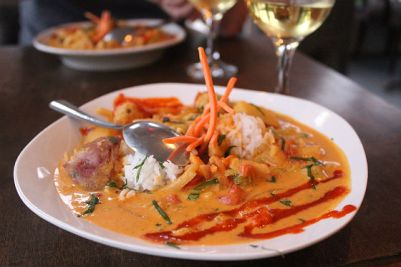 Thai curry at Doshi House Credit: Houston Press