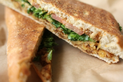 Latini panini at Green Seed Vegan